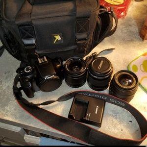 Professional Canon Rebel Digital Camera Bundle